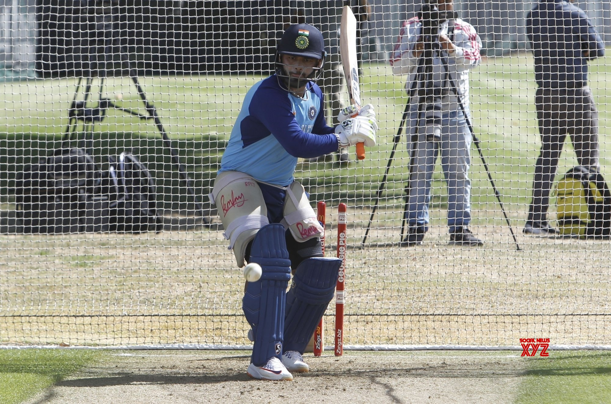 Auckland: India Vs New Zealand - 2nd ODI - India practice session #Gallery