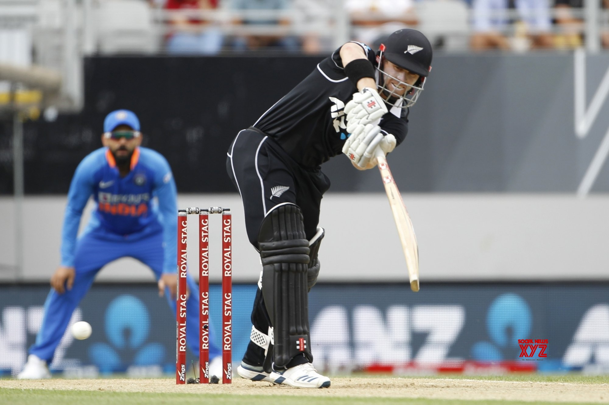 Auckland: 2nd ODI - India Vs New Zealand (Batch - 1) #Gallery