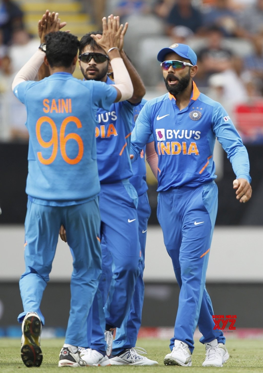 Auckland: 2nd ODI - India Vs New Zealand (Batch - 6) #Gallery