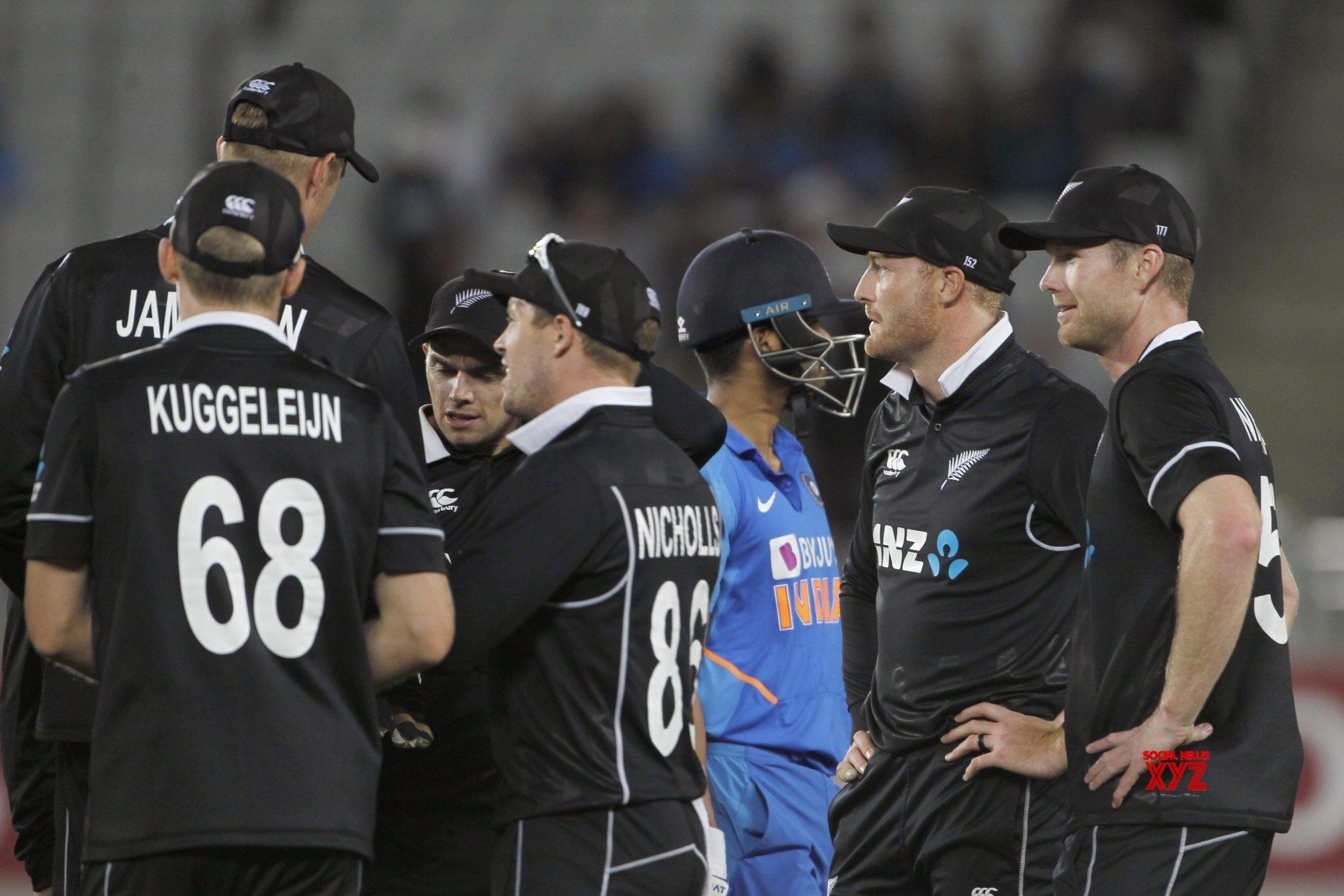 Auckland: 2nd ODI - India Vs New Zealand (Batch - 13) #Gallery