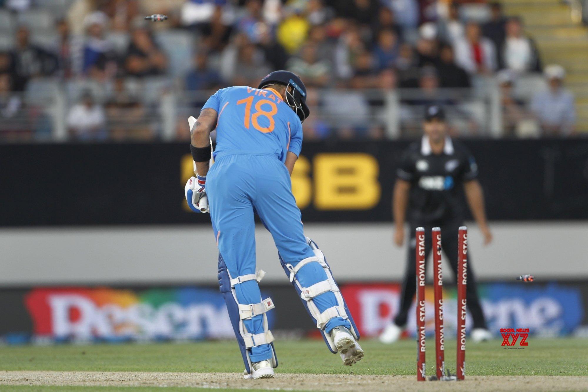 Auckland: 2nd ODI - India Vs New Zealand (Batch - 9) #Gallery
