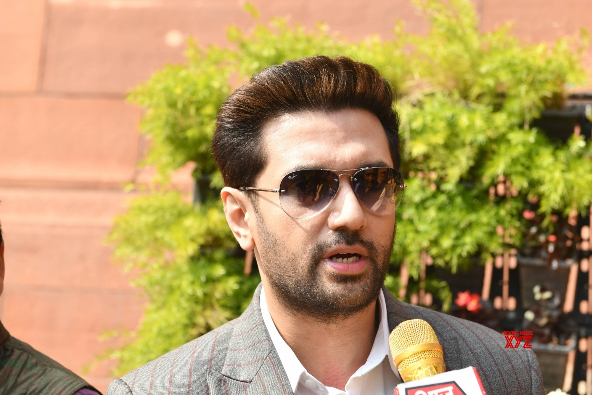 New Delhi: Budget Session - Chirag Paswan at Parliament #Gallery