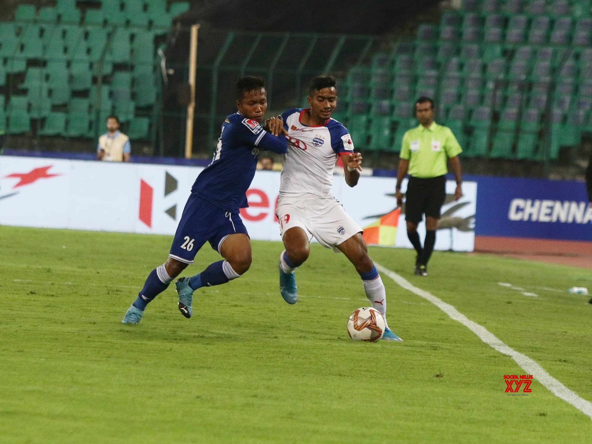 Chennai: Indian Super League 2019 - 20: Chennaiyain FC Vs Bengaluru FC #Gallery