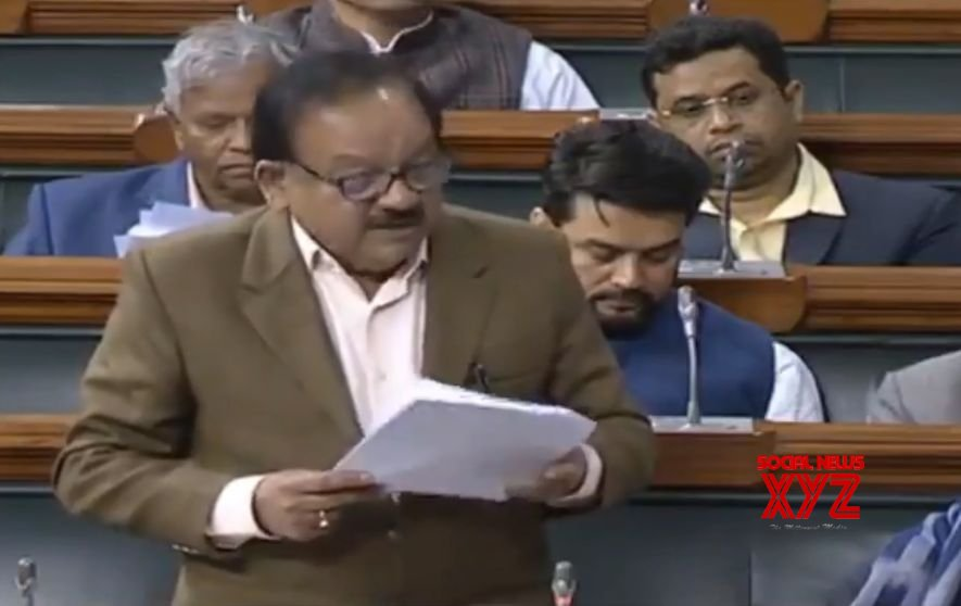 New Delhi: Parliament Budget Session: Harsh Vardhan speaks in the Lok Sabha #Gallery