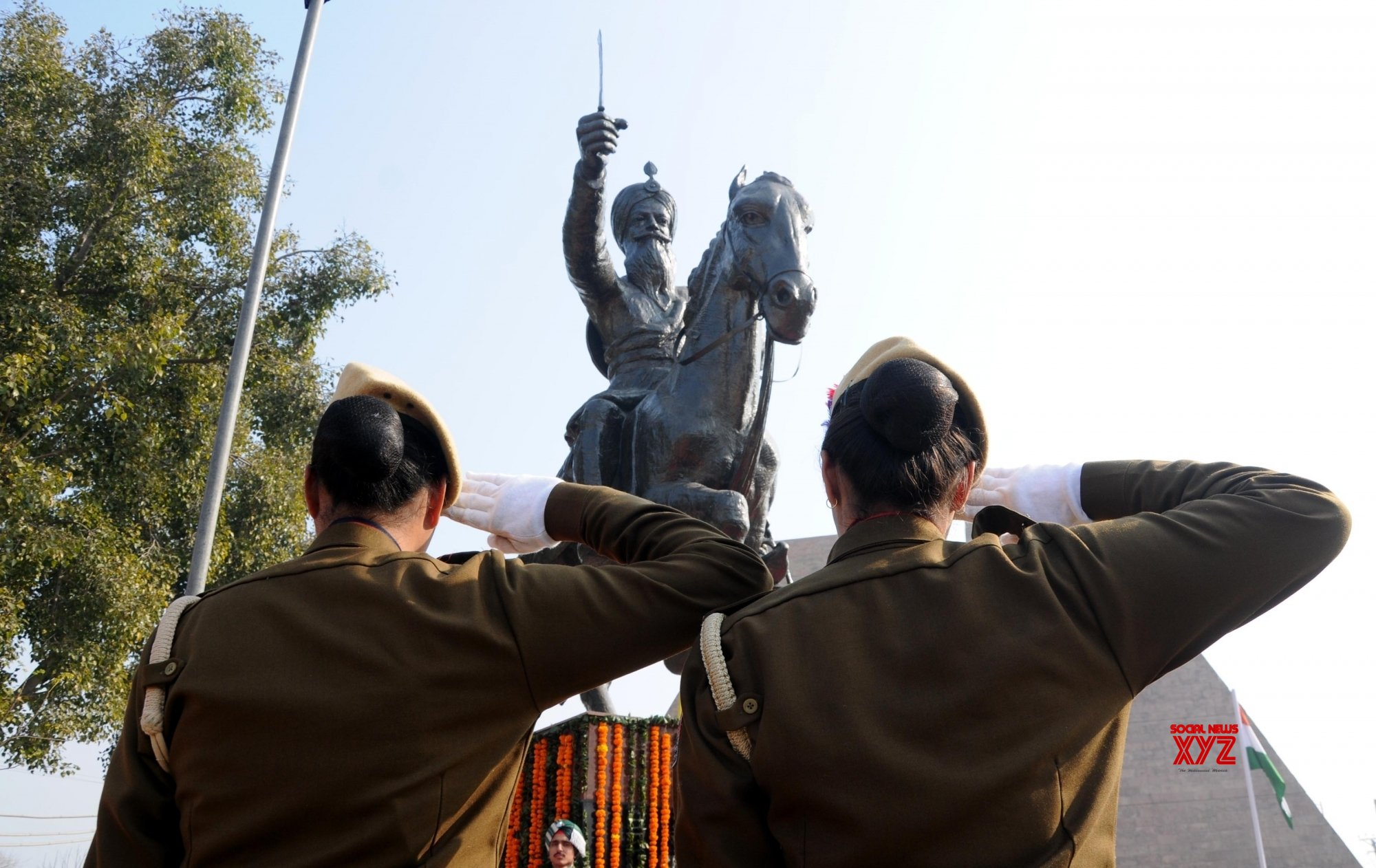 Amritsar: Tributes paid to General Sardar Sham Singh on his 174th Martyrdom Day #Gallery
