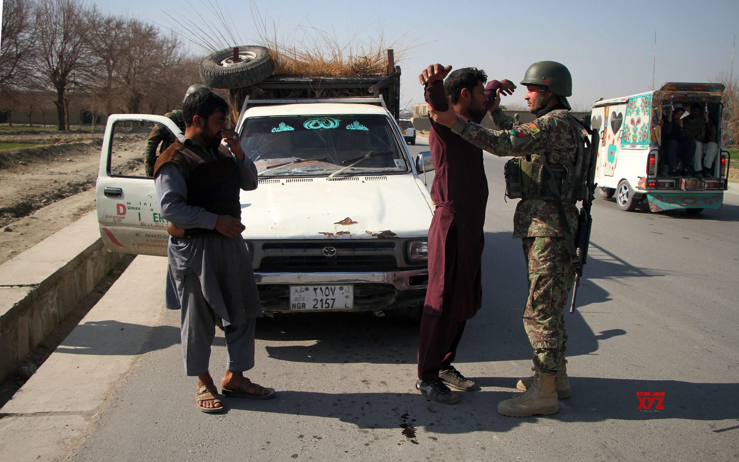 AFGHANISTAN - NANGARHAR - CHECKPOINT - U.S. SOLDIER - ATTACK #Gallery
