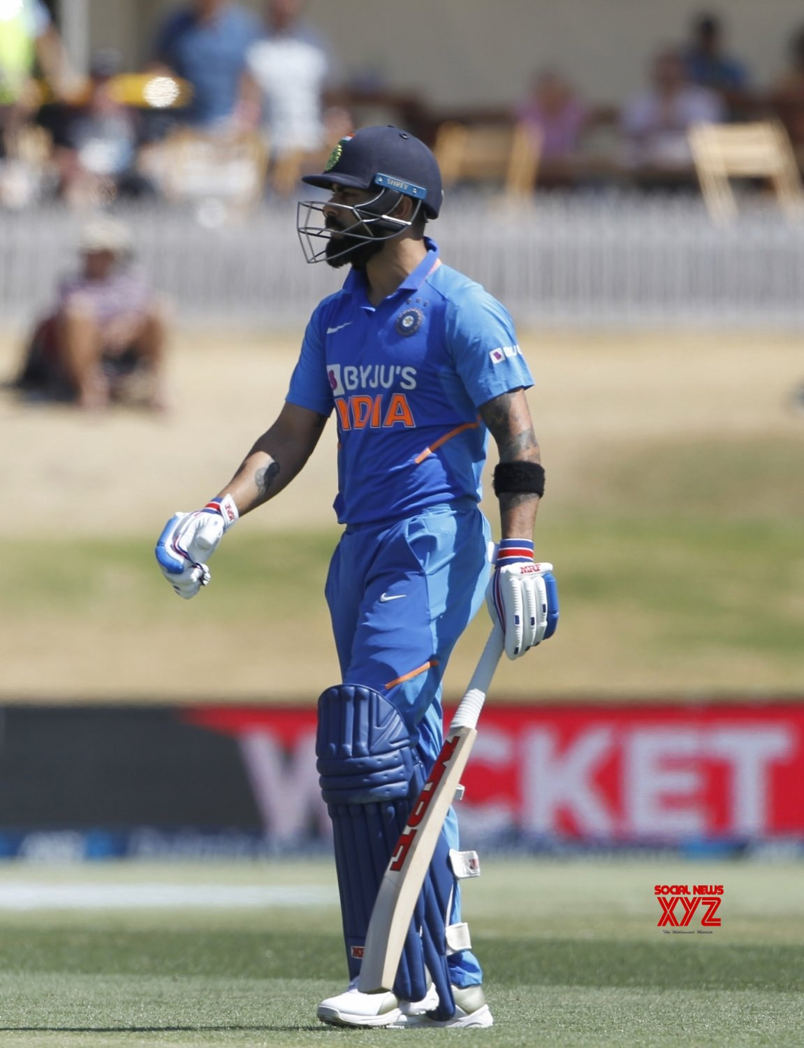 Mount Maunganui: 3rd ODI - India Vs New Zealand (Batch - 1) #Gallery
