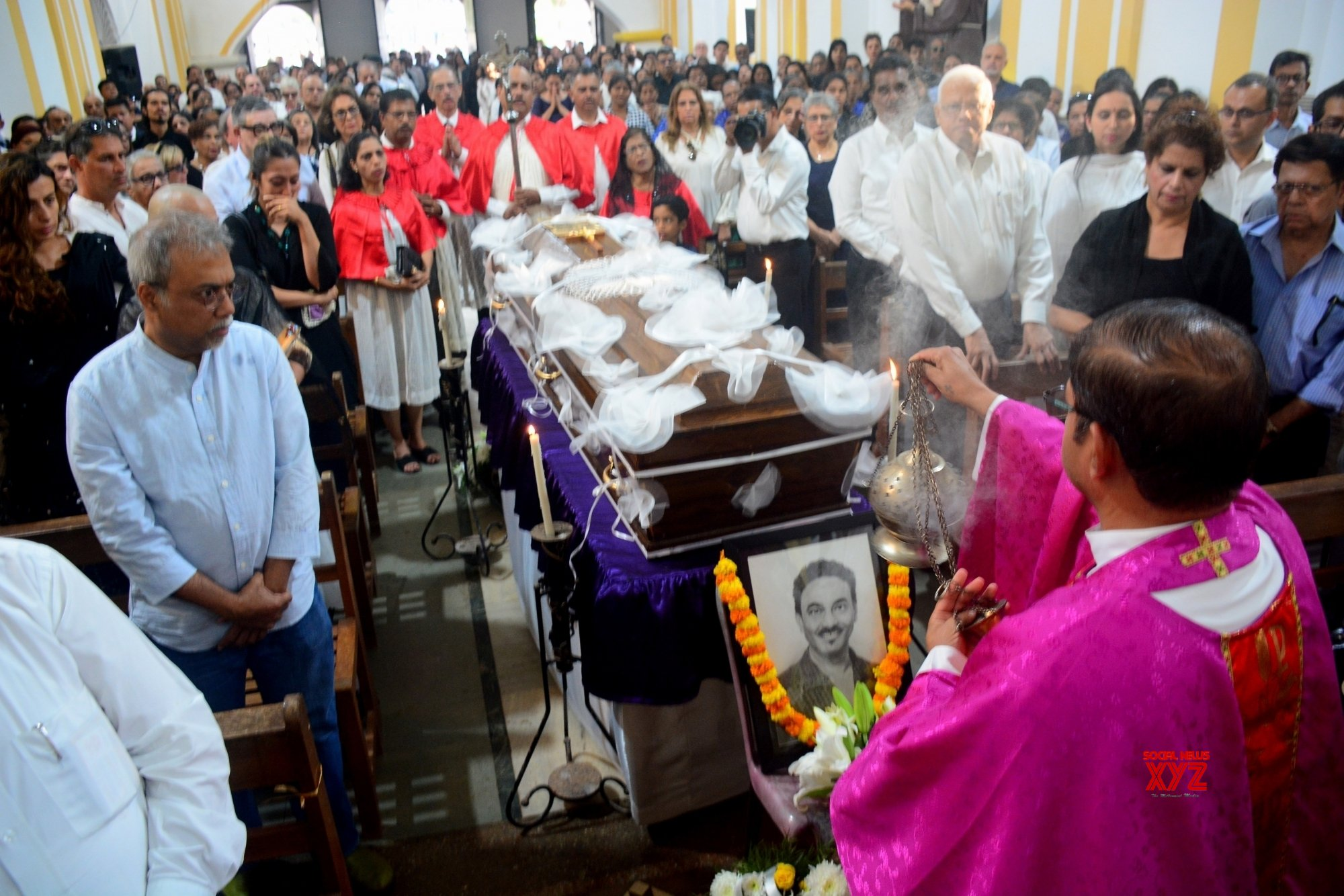 Goa: Fashion designer Wendell Rodricks remains laid to rest #Gallery