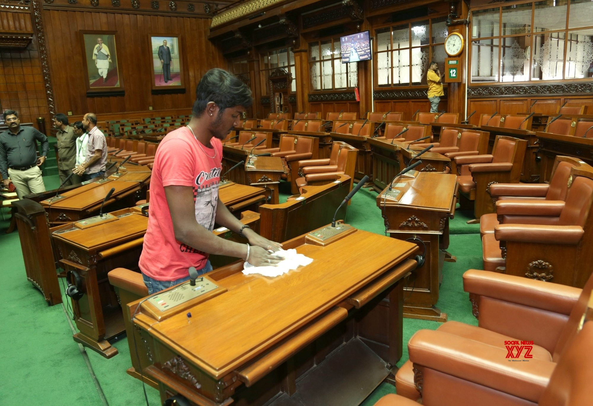 Bengaluru: Preparations for Karnataka's upcoming joint assembly session #Gallery