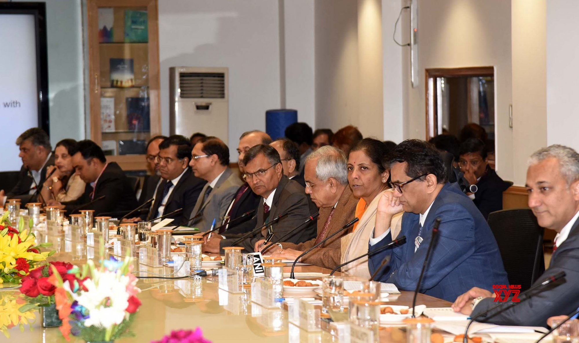 New Delhi: Nirmala Sitharaman interacts with Economists on 'Budget & Beyond' #Gallery