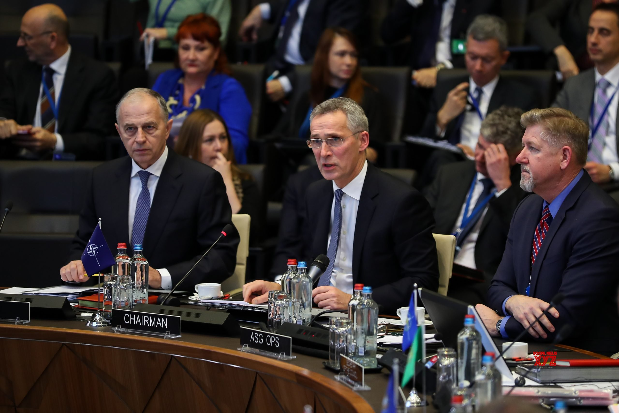 BELGIUM - BRUSSELS - NATO - DEFENSE MINISTERS - MEETING #Gallery
