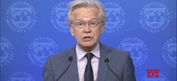 International Monetary Fund's Communications Director Gerry Rice (Photo: IMF video/IANS)