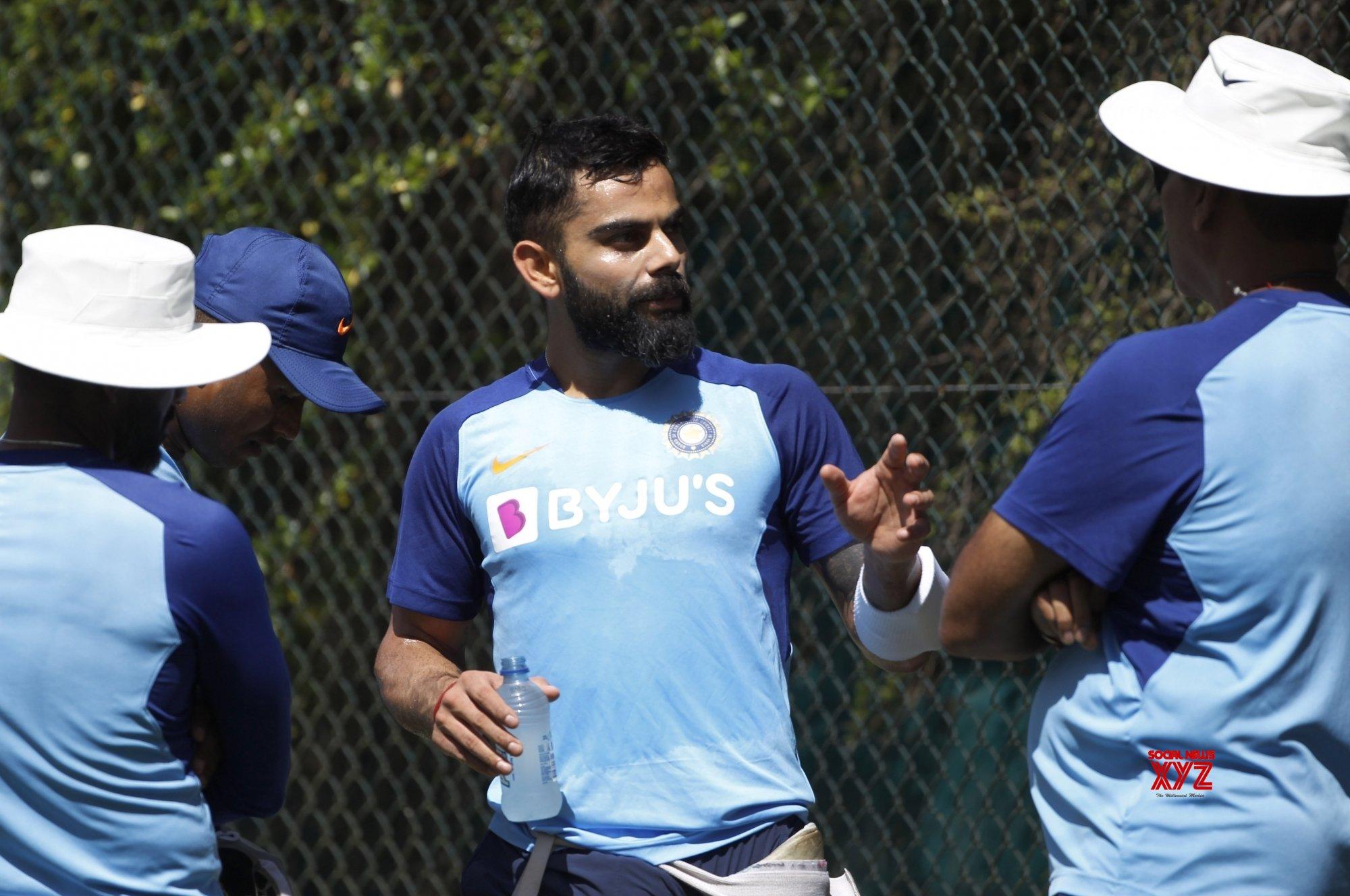 Hamilton: 1st Test - India Vs New Zealand - India practice session #Gallery