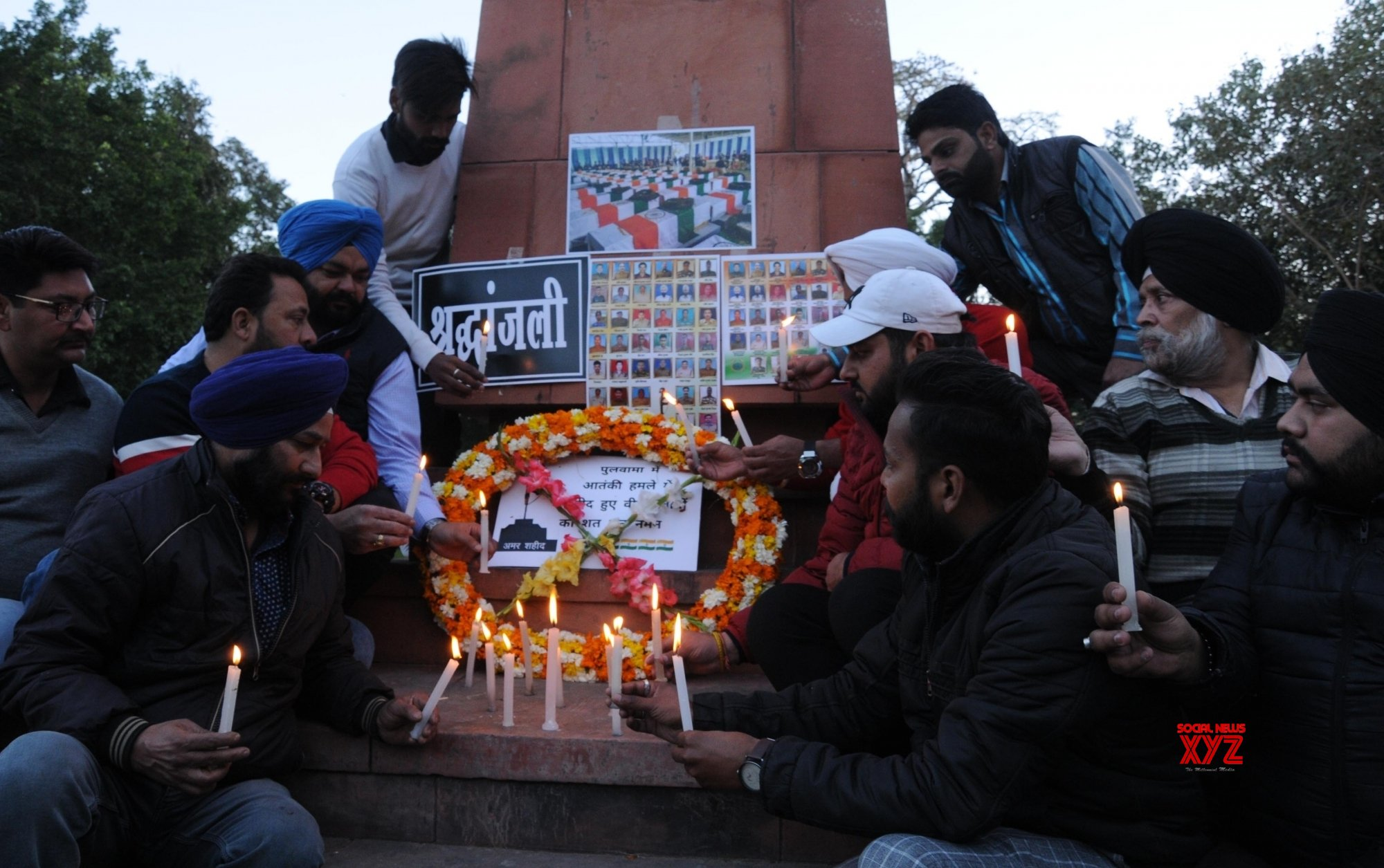 Amritsar: Tributes paid to Pulwama martyrs #Gallery