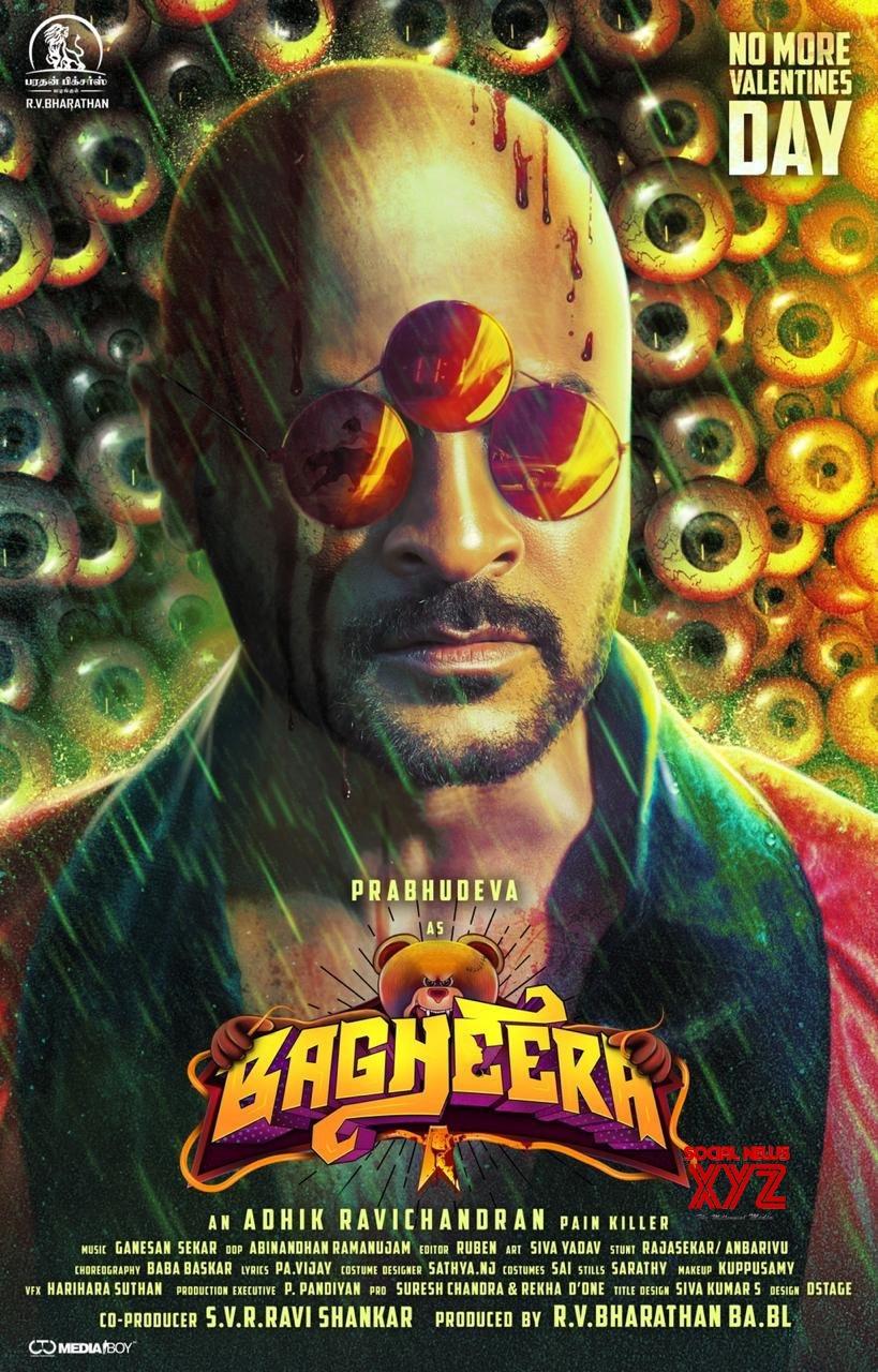 Prabhu Deva First Look Poster From Bagheera Movie