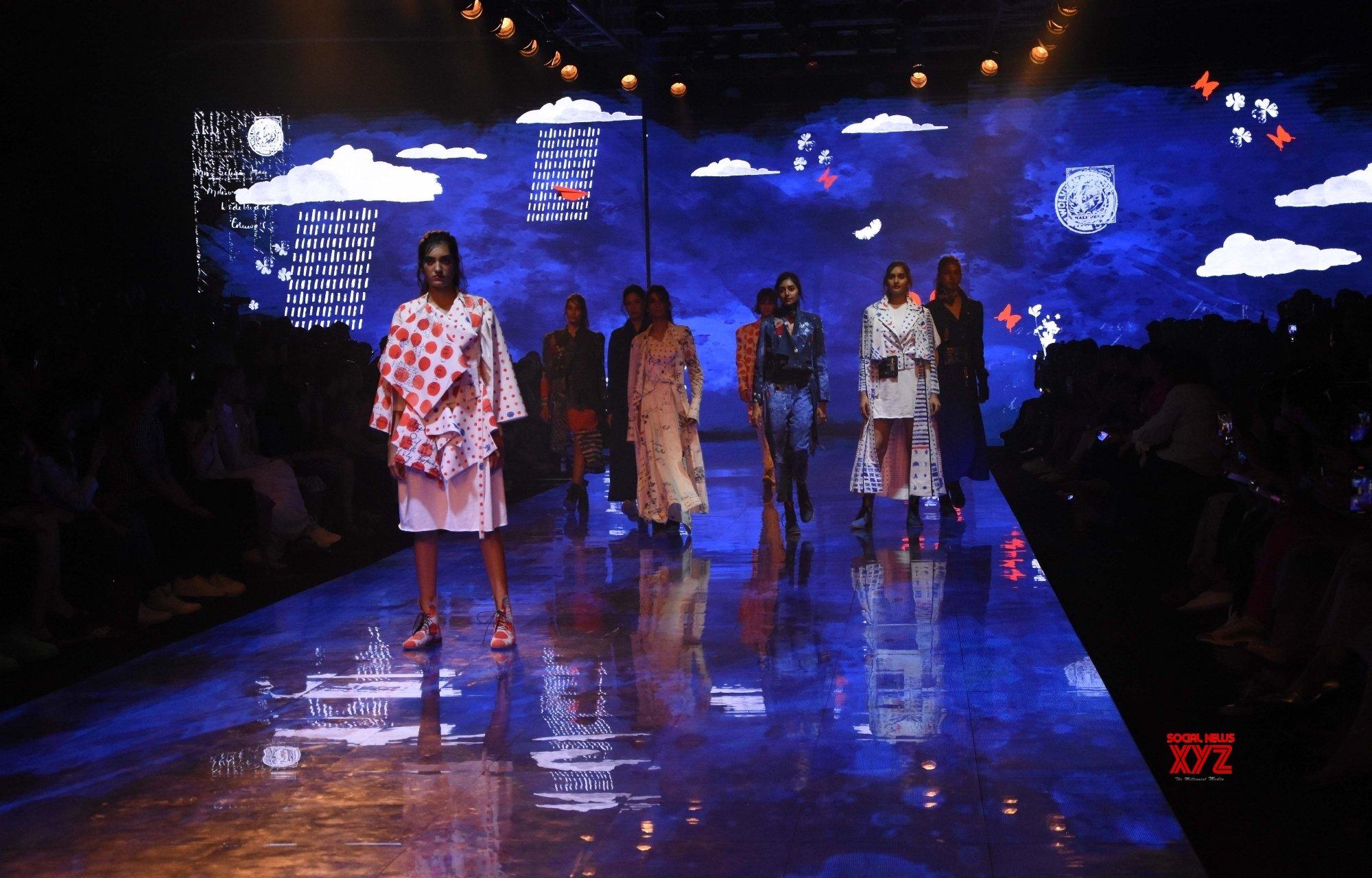 Mumbai: Jajabor Collections showcased at Lakme Fashion Week Day 4 #Gallery