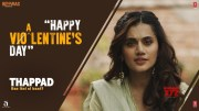 Happy Violentine's Day | Thappad | Taapsee Pannu | Anubhav Sinha | Bhushan Kumar | 28 February 2020 [HD] (Video)