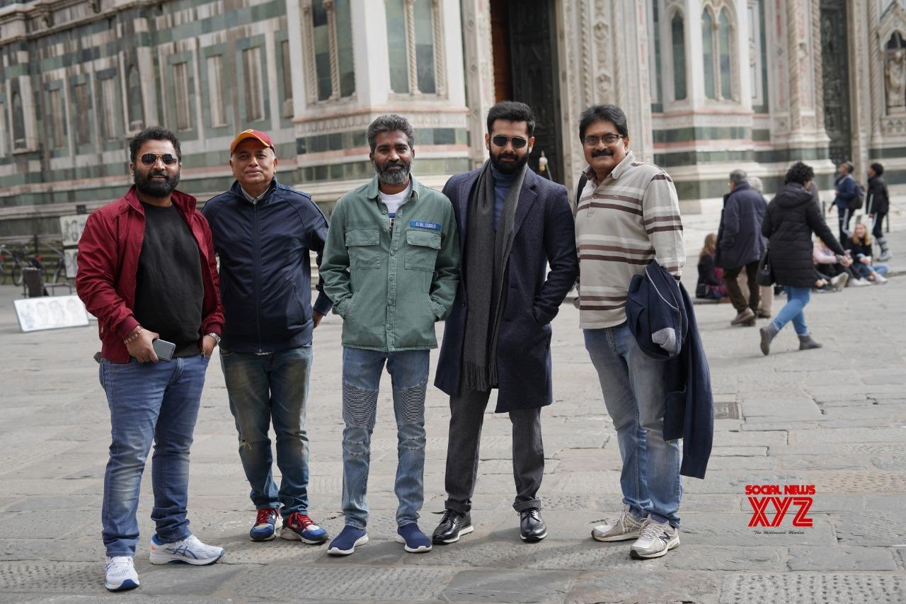 Ram's Red Movie Italy Shooting Stills