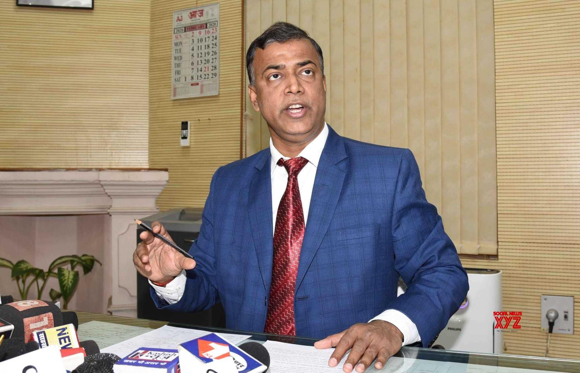 Patna: BSEB Chairman Anand Kishore's press conference #Gallery