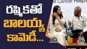 Nandamuri Balakrishna Making Fun with Rashmika Mandanna (Video)