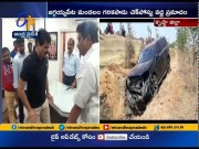 Brother Anil Kumar Escaped From Road Accident at Garikapadu Check Post  (Video)