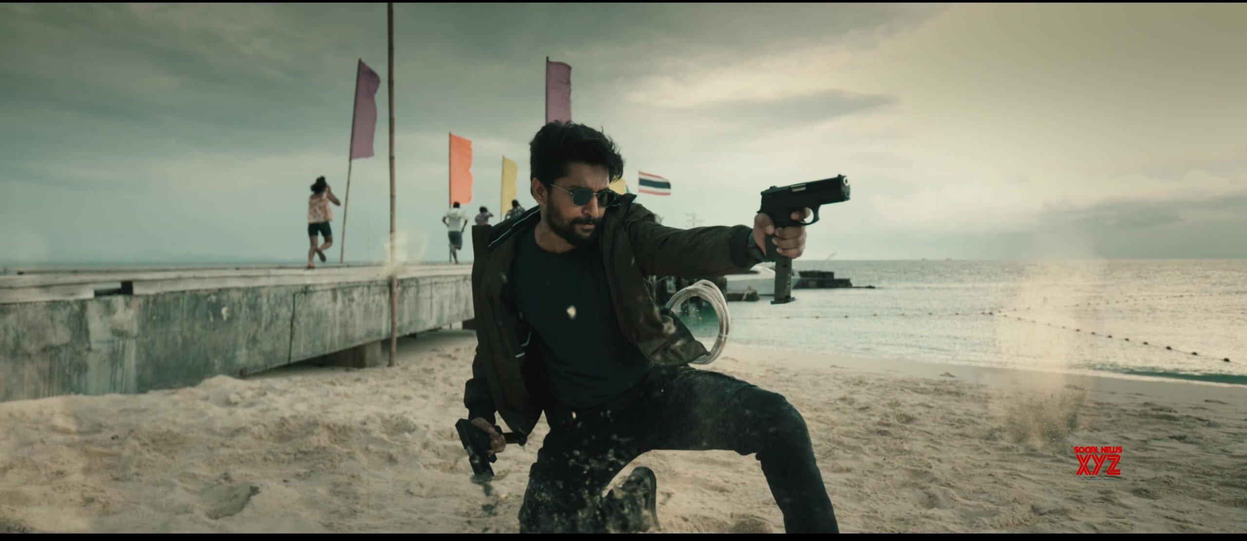 Nani And Sudheer Babu's V Movie Teaser Stills - Social News XYZ