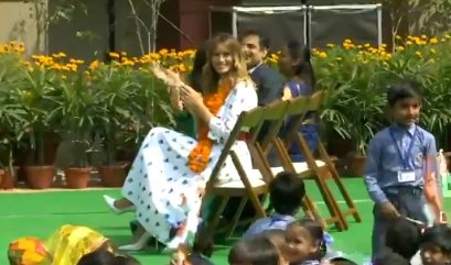 When Bhangra kid amused US First Lady