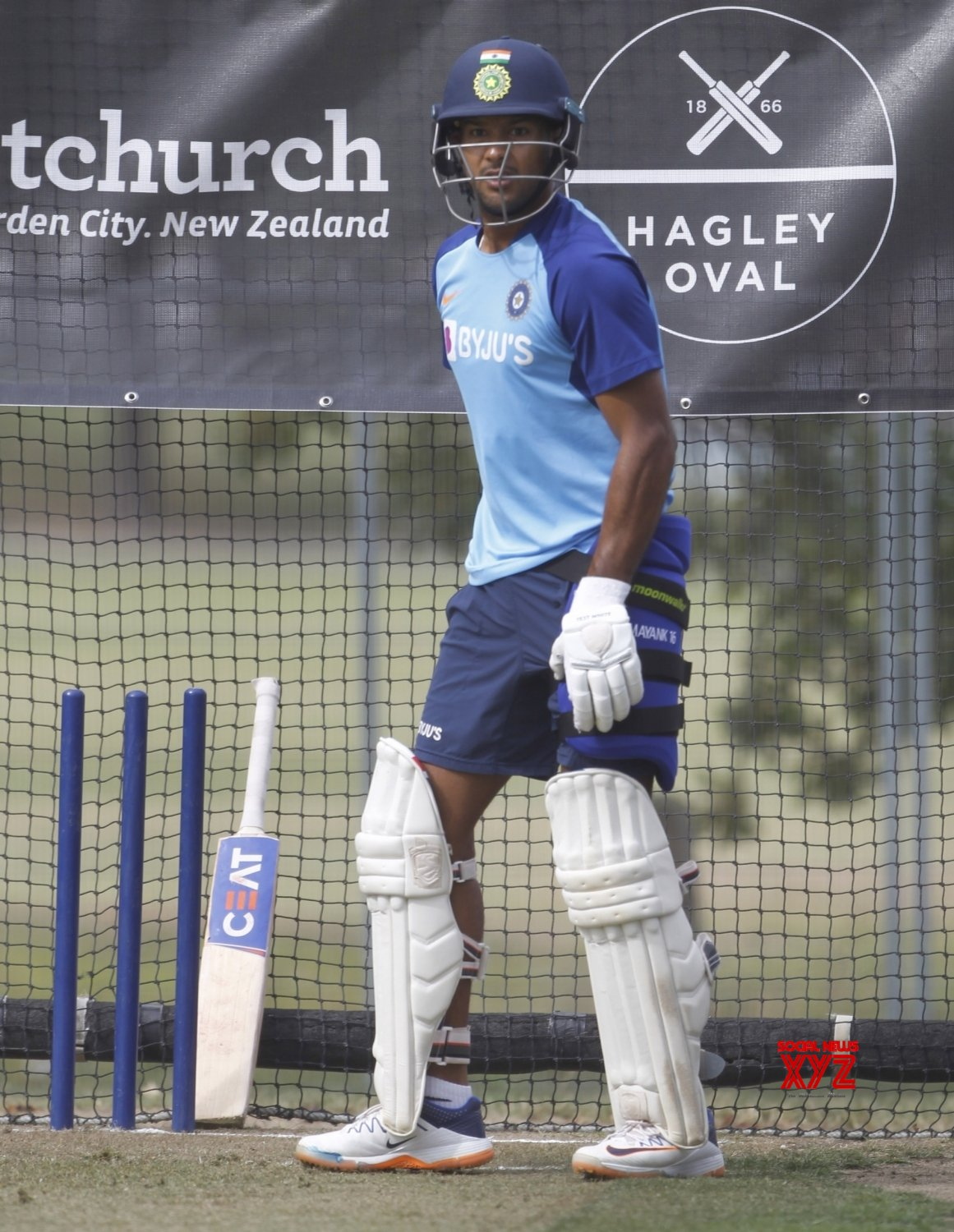 Christchurch: 2nd - Test - India Vs New Zealand - India Practice session (Batch - 1) #Gallery