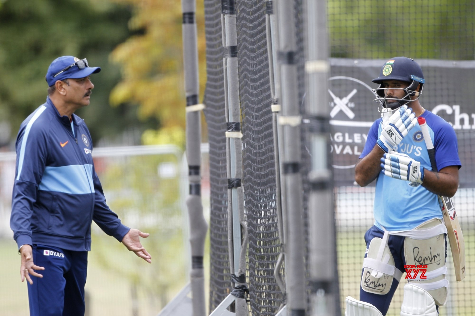 Christchurch: 2nd - Test - India Vs New Zealand - India Practice session (Batch - 2) #Gallery