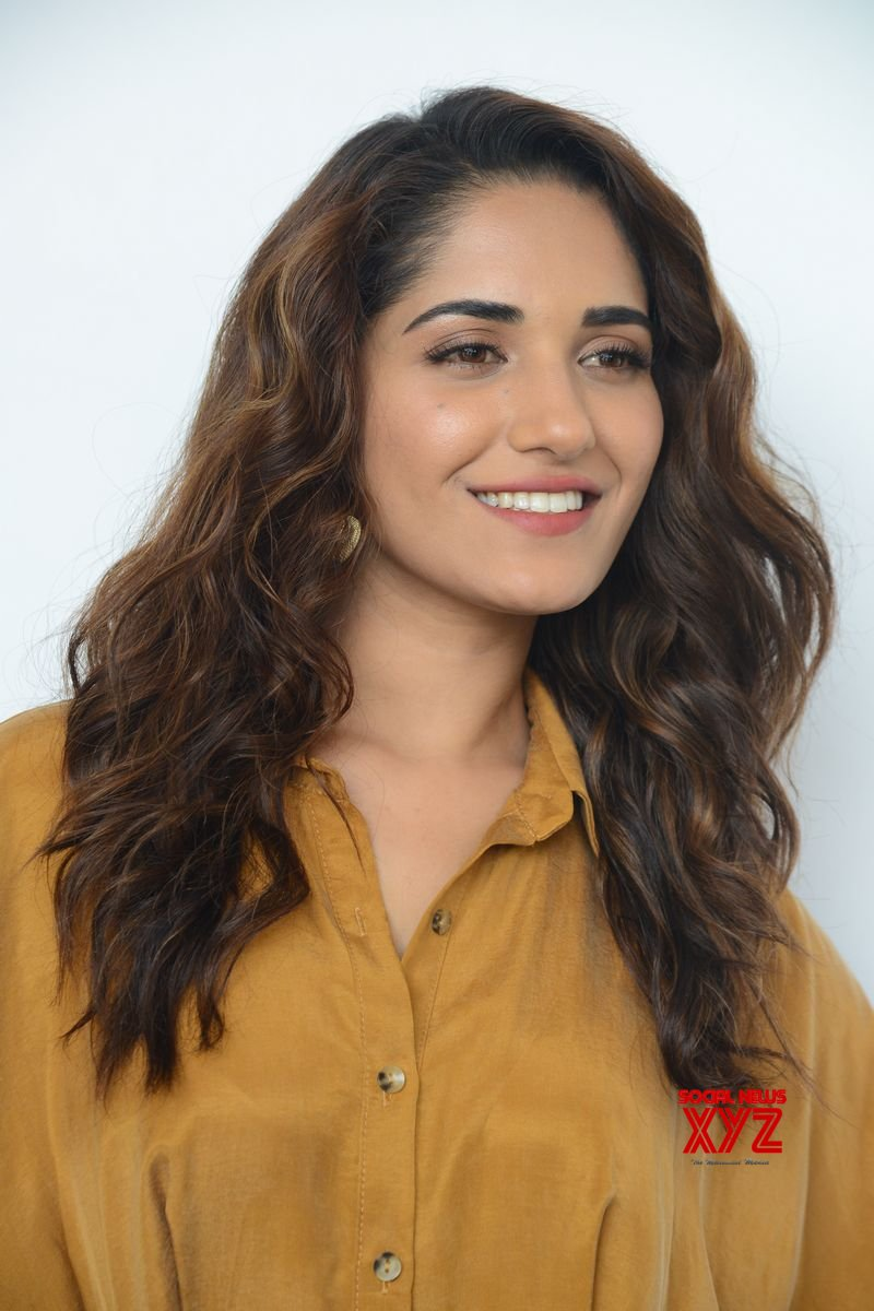 Actress Ruhani Sharma Glam Stills From Hit Movie Promotions
