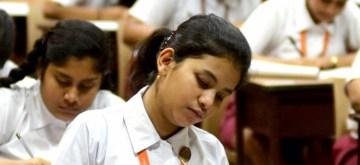 Kolkata: Students appear first day of ICSE exams in Kolkata on Feb 27, 2020. (Photo: IANS/Kuntal Chakrabarty)