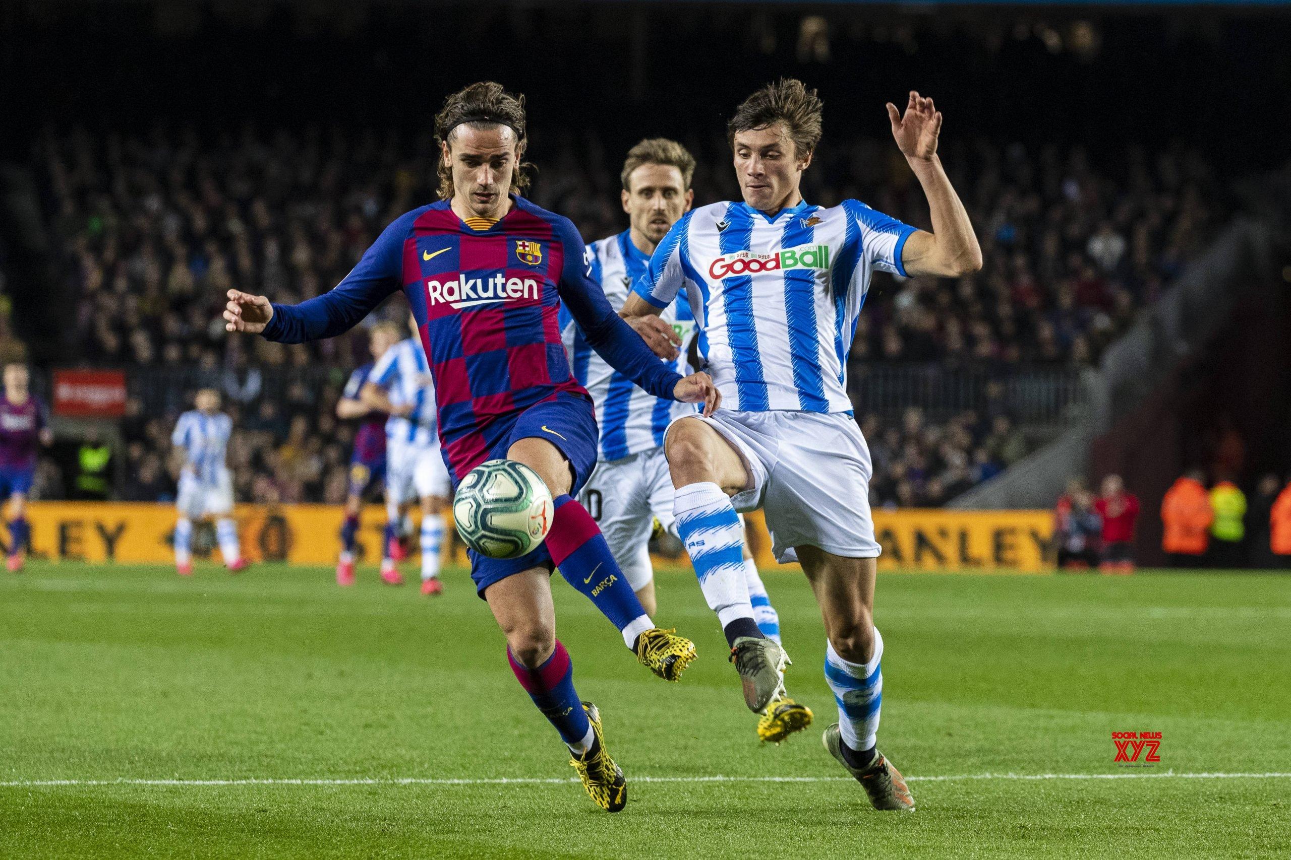 SPAIN - BARCELONA - FOOTBALL - SPANISH LEAGUE - BARCELONA ...