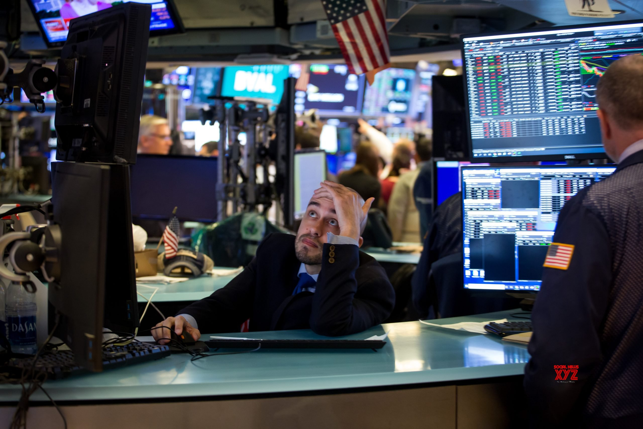 Wall Street trading halts as major indexes crash