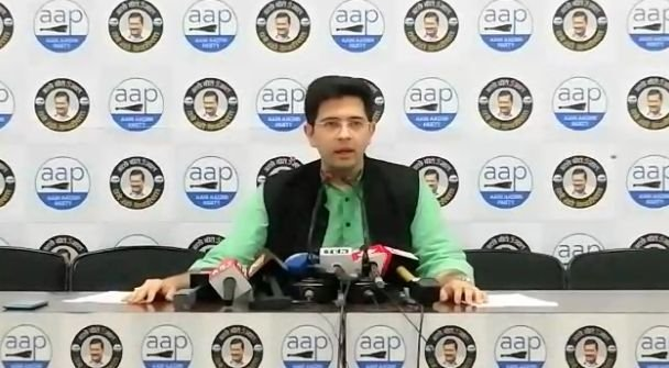 Raghav Chadha bats for water conservation, green mobility