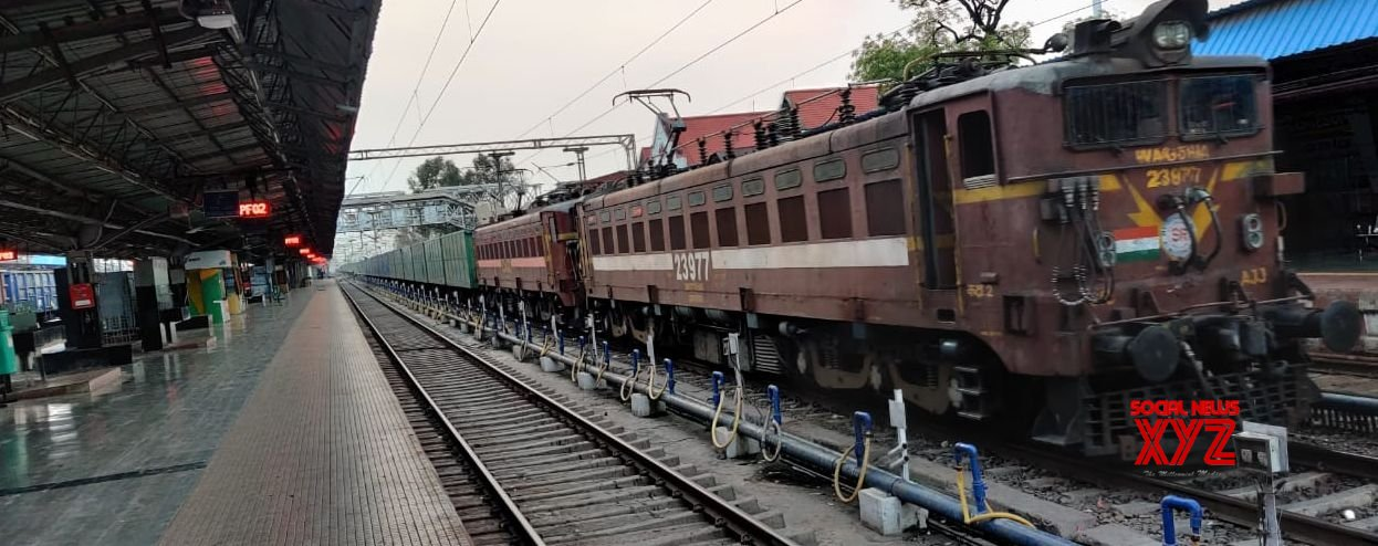 New Delhi: With passenger trains stopped, railways focuses on freight services #Gallery