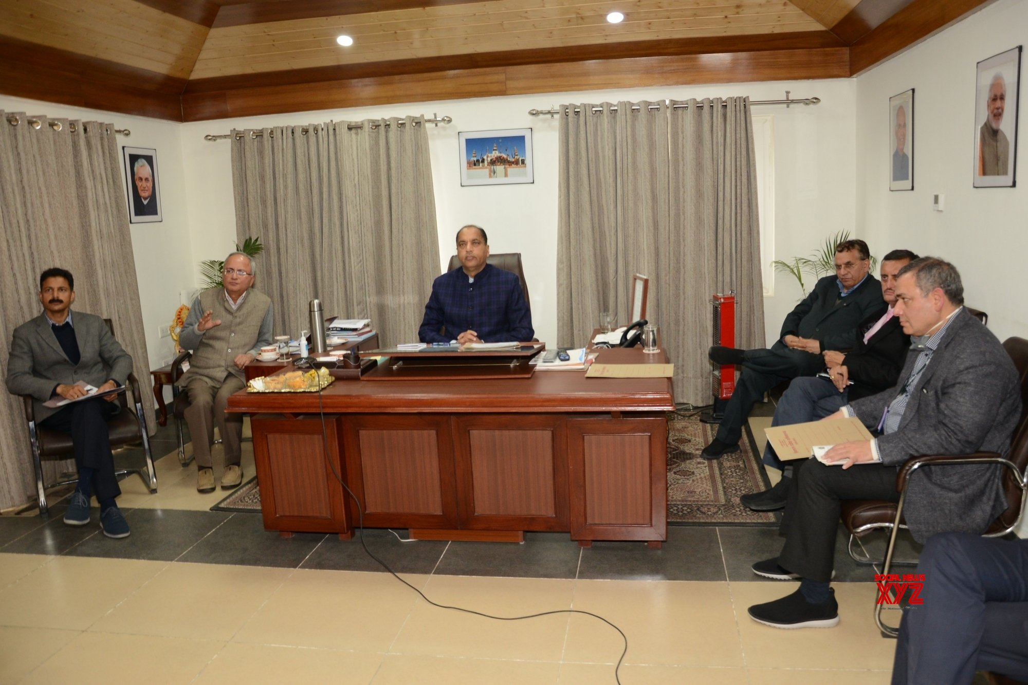 Shimla: Himachal CM urges people to remain indoors during lockdown period #Gallery