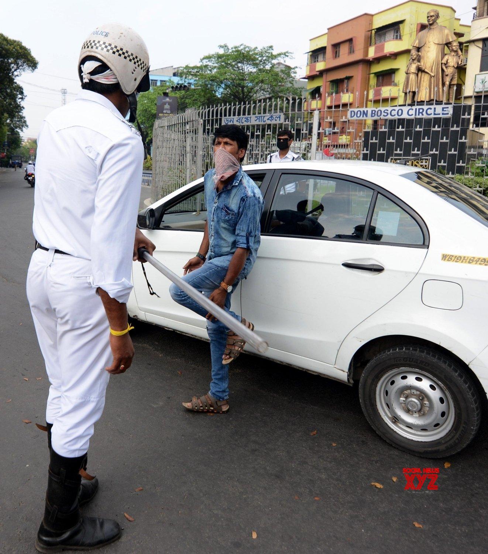 Kolkata: Proactive policing during 21 - day lockdown #Gallery