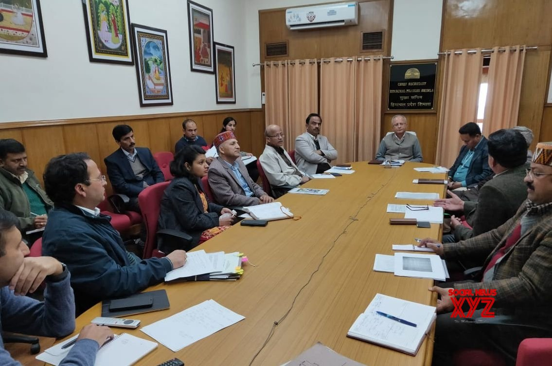 Shimla: State Executive Committee reviews arrangements for COVID - 19 #Gallery