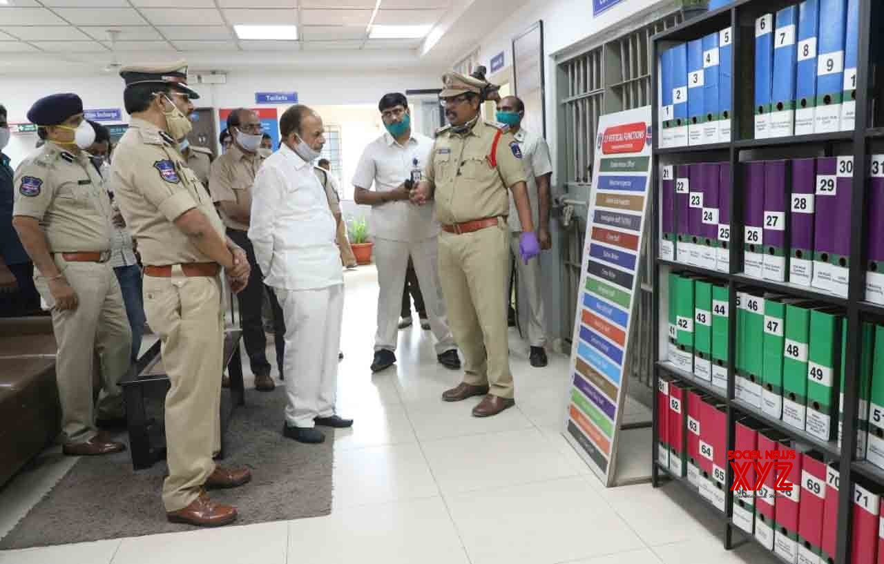 Hyderabad: Telangana Home Minister reviews lockdown situation in the city #Gallery