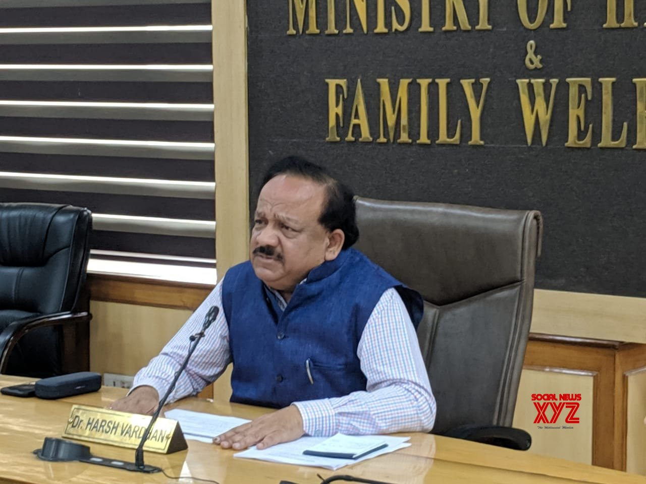 New Delhi: Harsh Vardhan chairs meeting to review actions and preparedness for COVID - 19 #Gallery