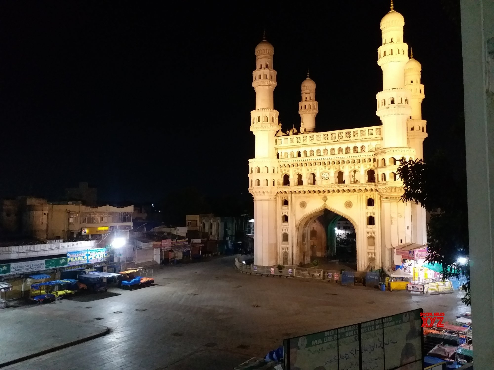 Hyderabad: Deserted Hyderabad amid lockdown #Gallery