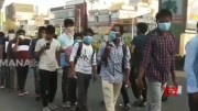 Thousands of Students & Employees Gather at Police Stations in Hyderabad (Video)