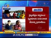 People Serious on Govt | Over Stopped by AP Police | at AP - TS Border | Live Update  (Video)