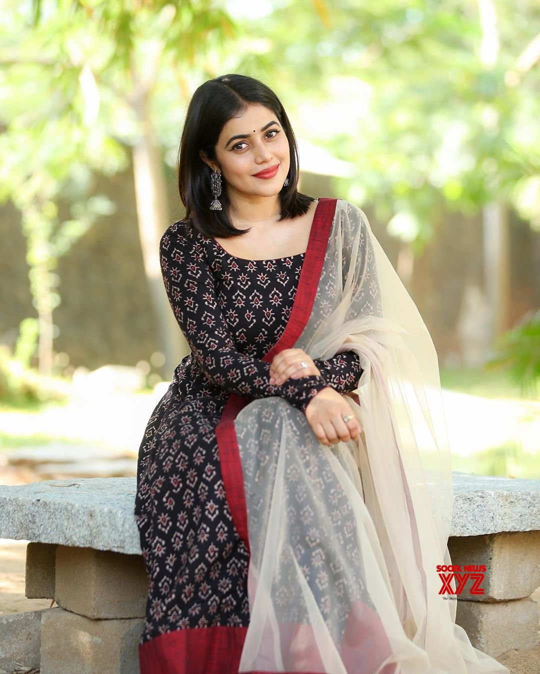 Actress Poorna Latest Glam Traditional Stills