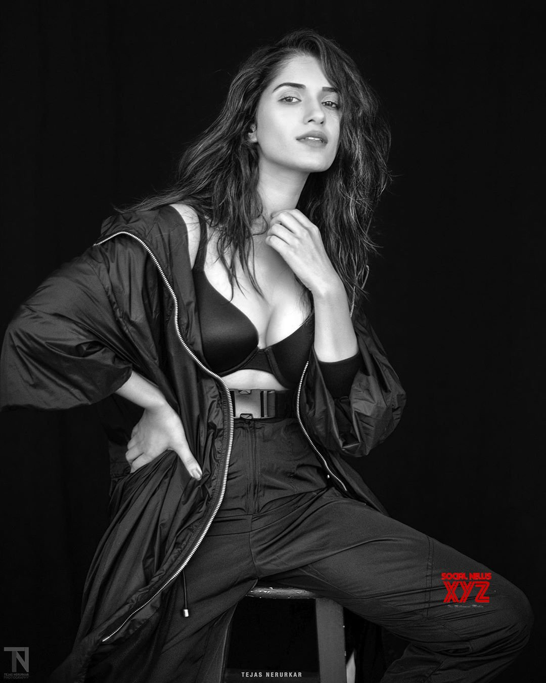 Actress Neha Sharma Hot Still From Wedding Vows Magazine