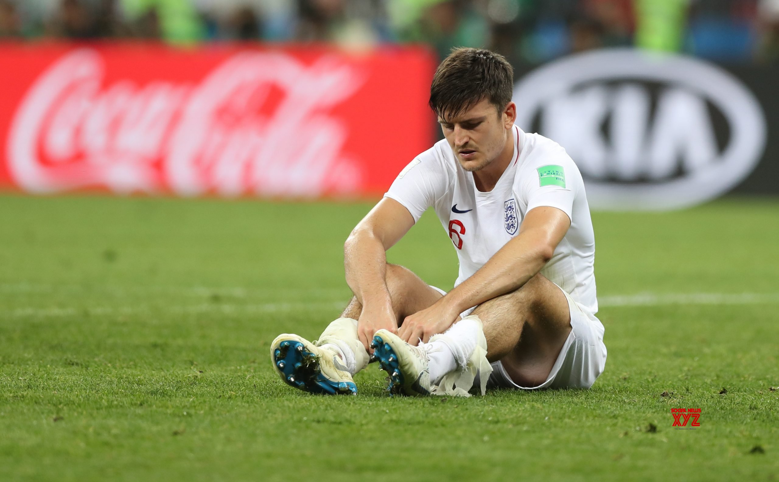 Seems a safe environment, says Maguire after training return