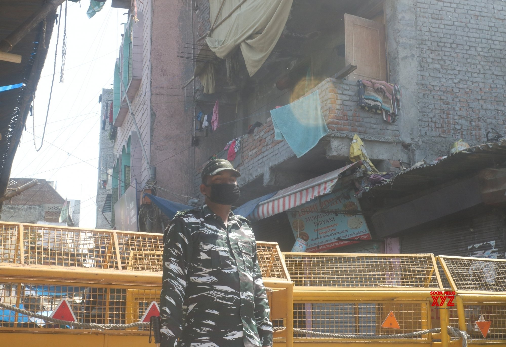 Sogal Traitement De Surface new delhi: nizamuddin west sealed during lockdown #gallery