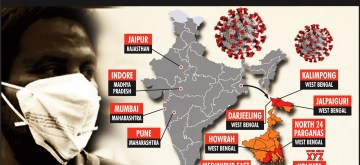 11 districts where condition of coronavirus is serious. (IANS Infographics)