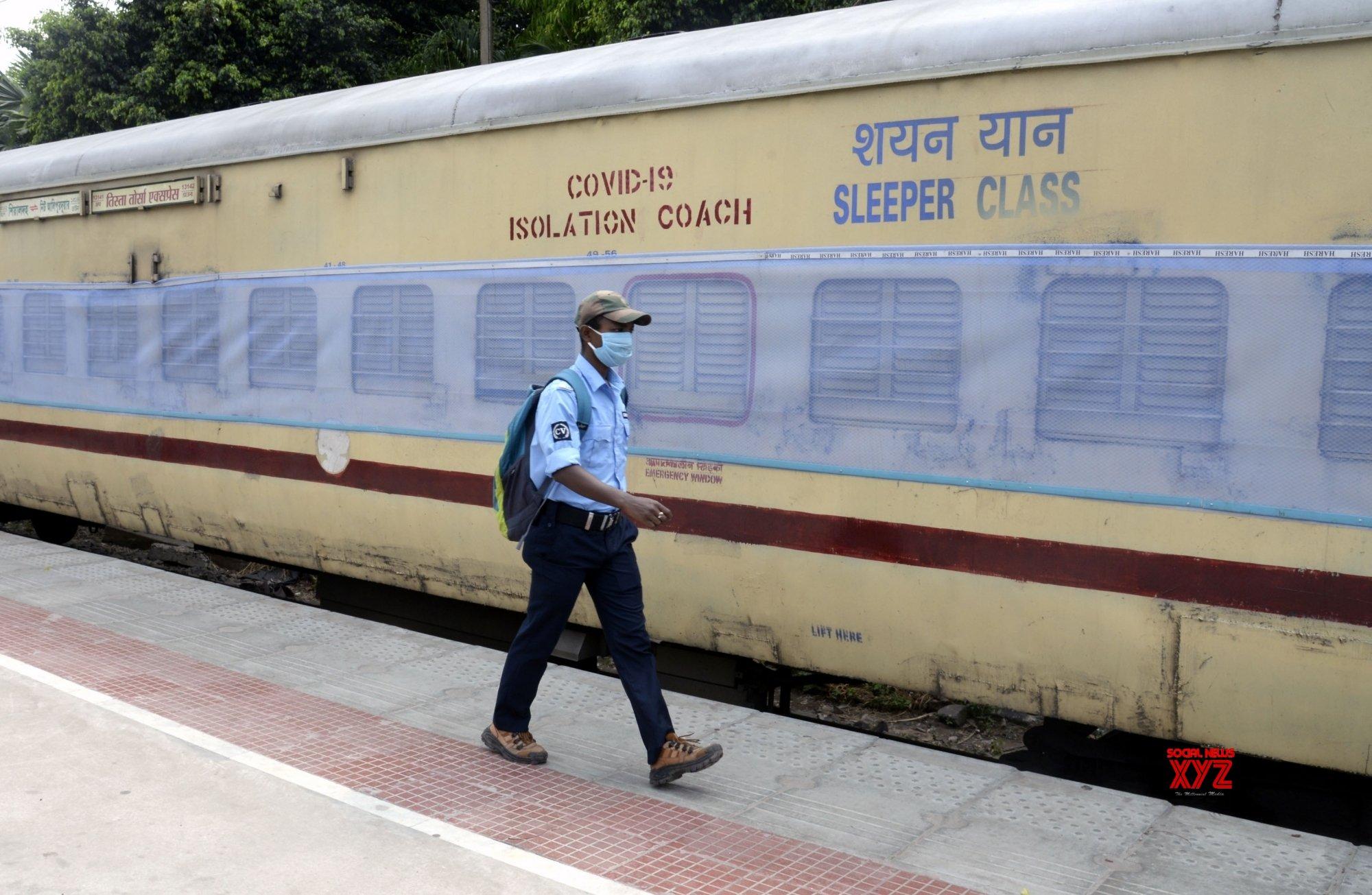 Railways to utilise 50% isolation coaches in Shramik trains