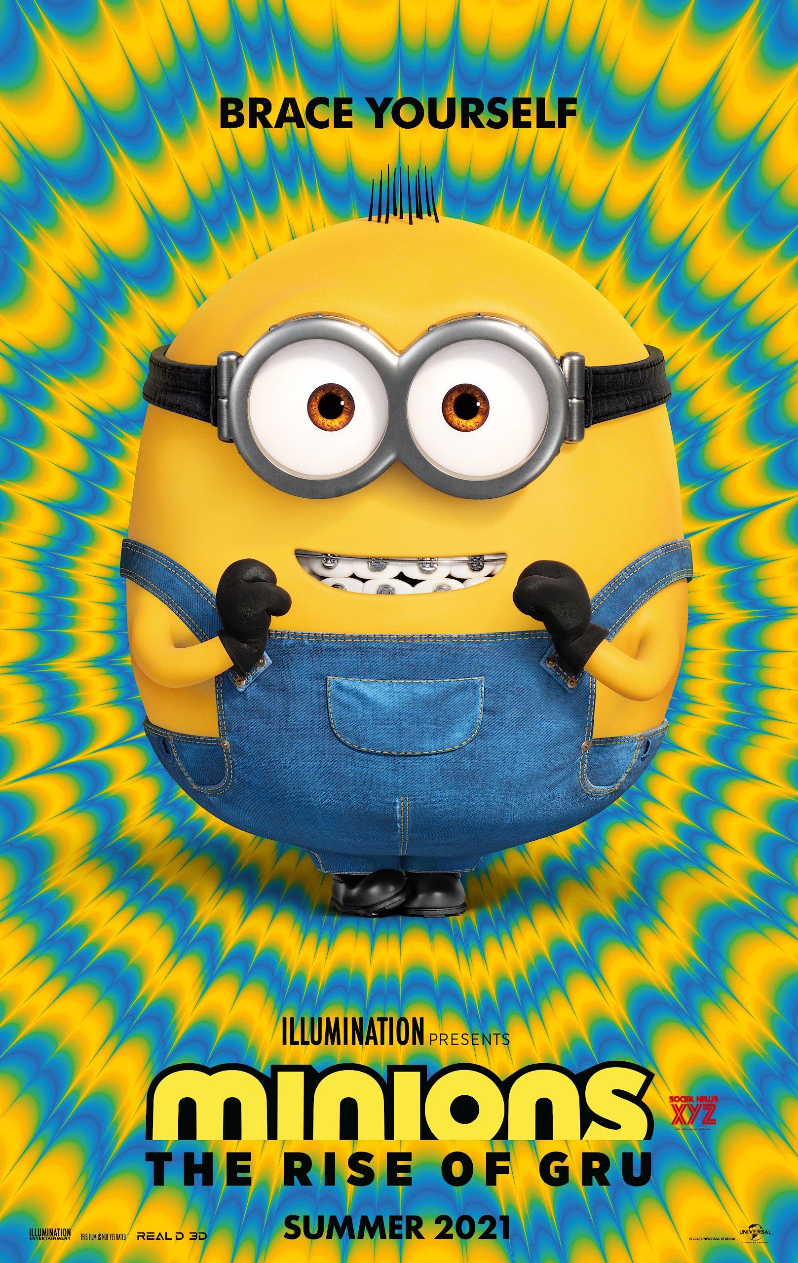 Minions The Rise Of Gru Movie Hd Poster Social News Xyz